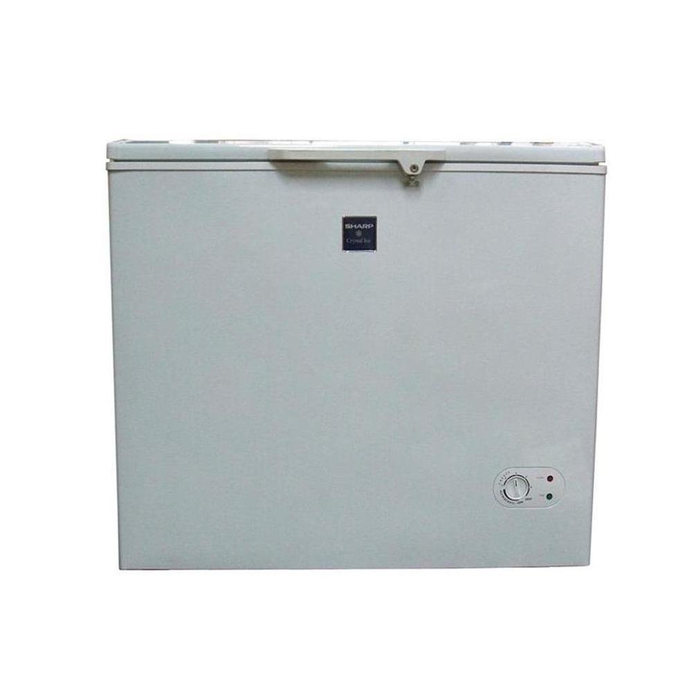 Super Promo Chest Freezer 1 Pintu Sharp Kapasitas 250 Liter Frv-300 Murah