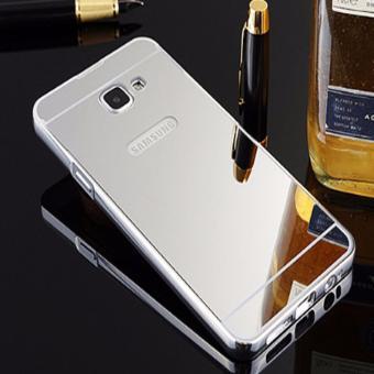 Bumper Sleding Mirror For Samsung Galaxy A7 2017 A720 BesiKaca Metal Back Case