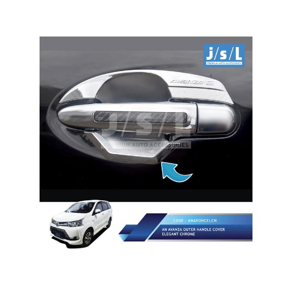 aksesoris grand new avanza e std kehebatan all xenia outer handle cover elegant chrome dan harga mobil