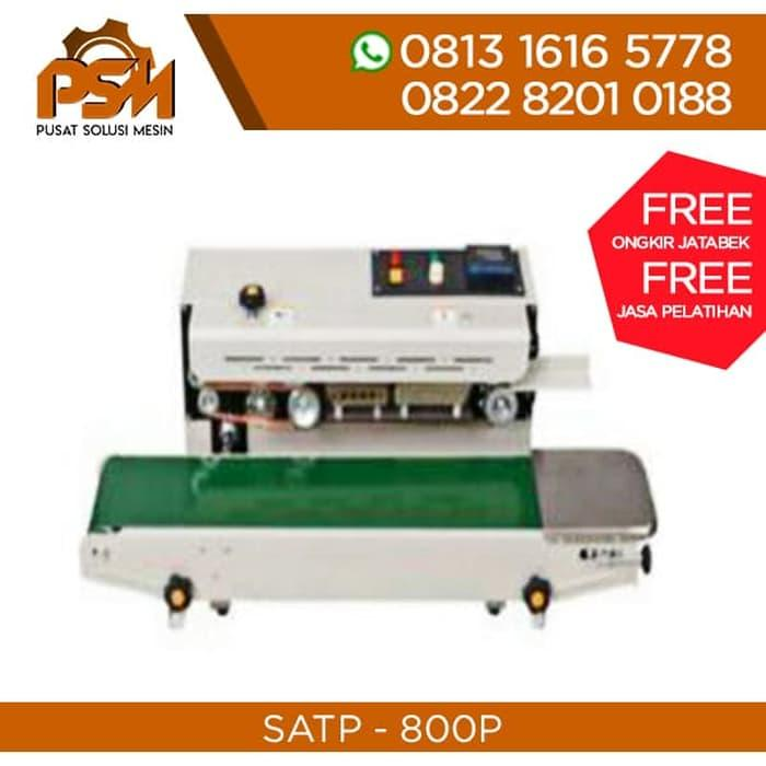 Promo Mesin Continous Band Sealer Horizontal SATP800P