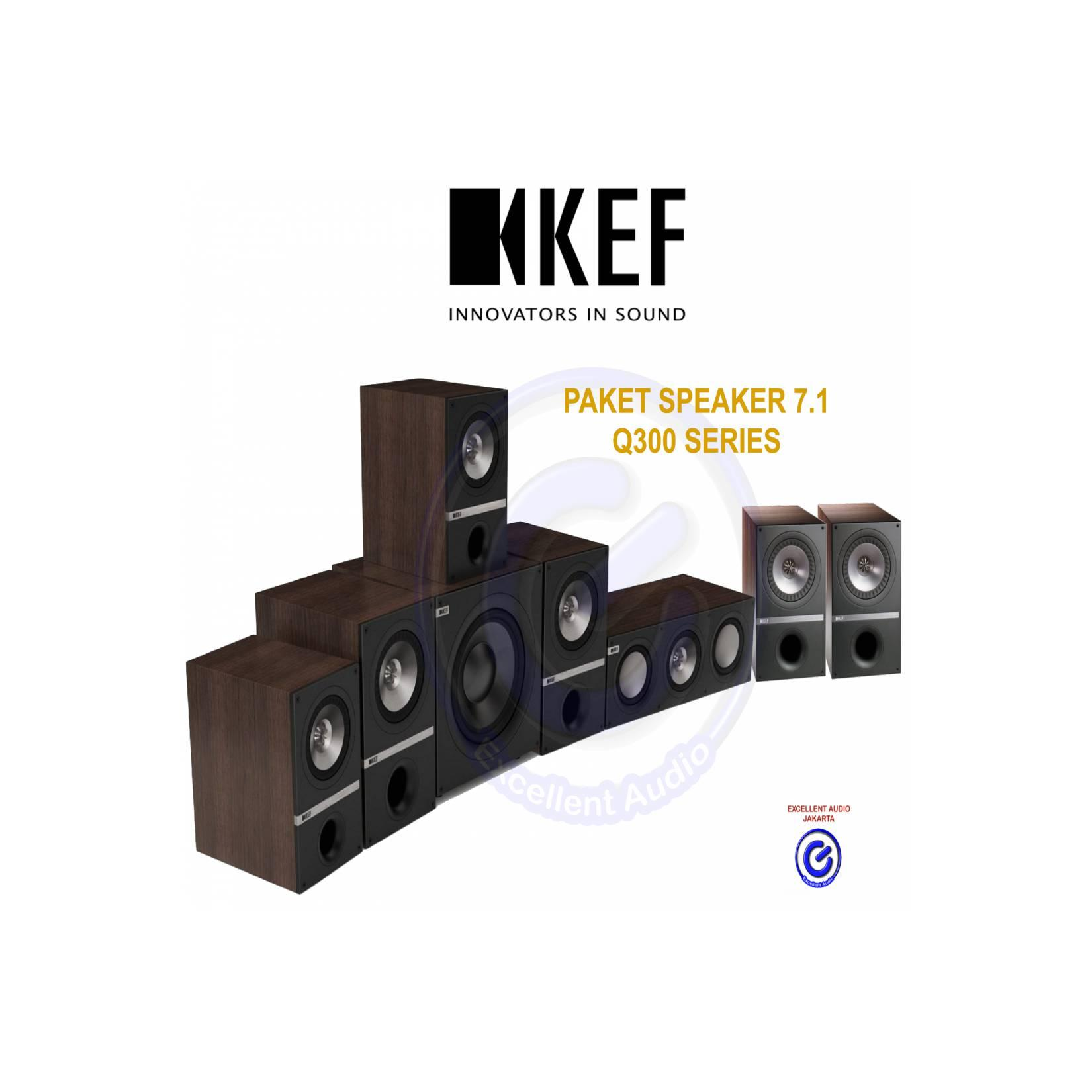 KEF Q300 paket 7.1 home theater speaker sln jbl B&W Focal Q