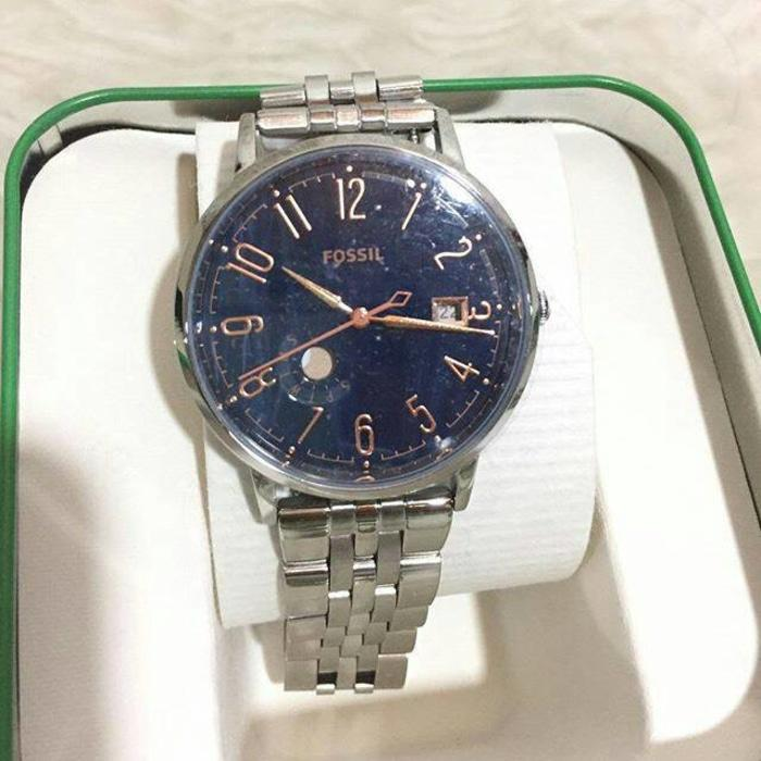 Jam Tangan Fossil Muse Blue NWT Original Authentic