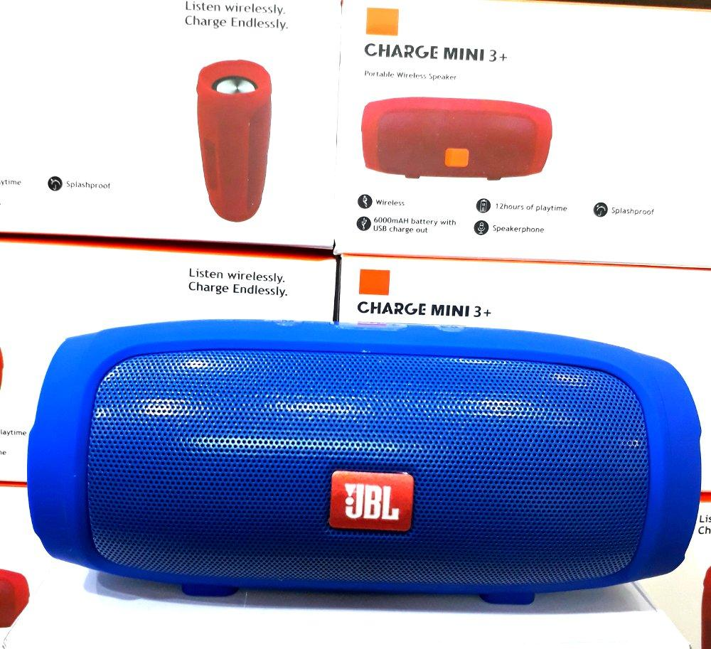 Speaker Charge MINI 3+ Splashproof Portable Wireless Bluetooth Extra Bass Untuk Semua jenis Hp