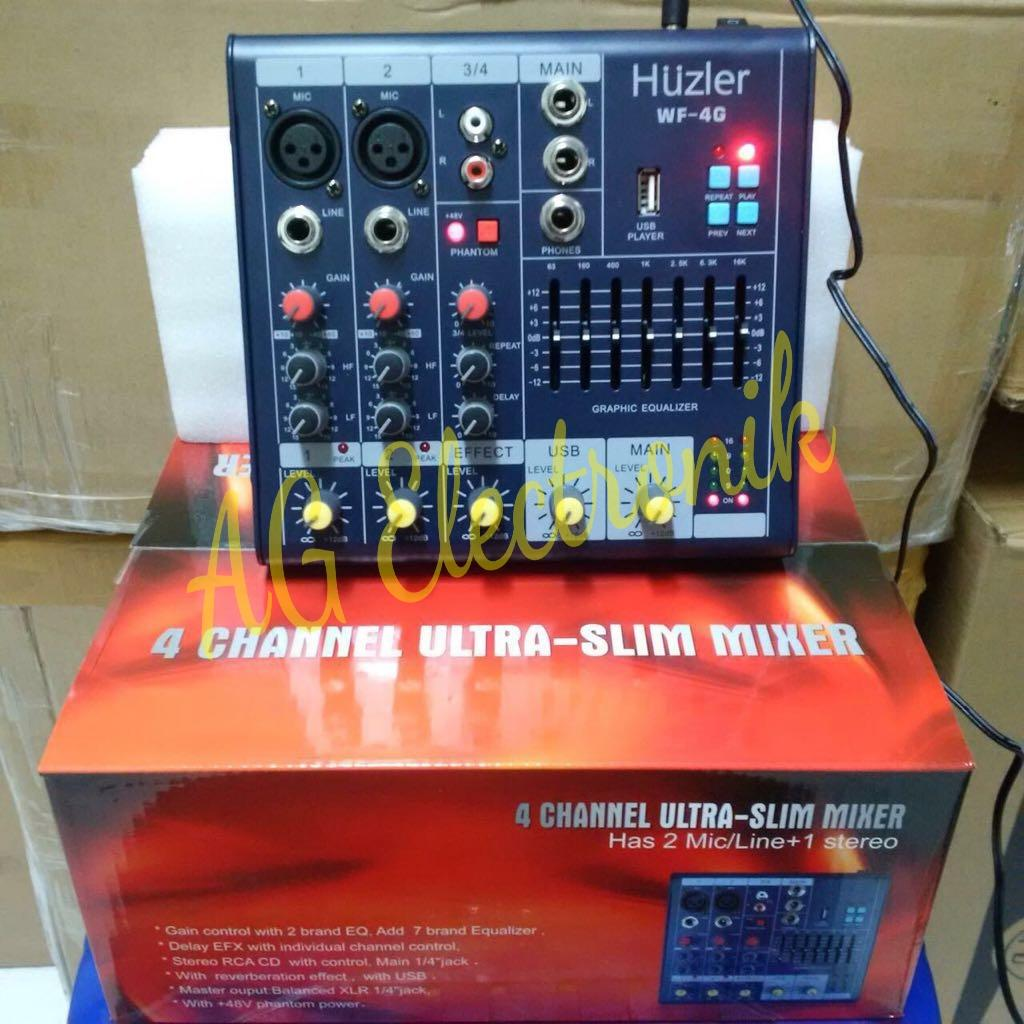 Mixer Audio HUZLER WF-4G(4 channel)