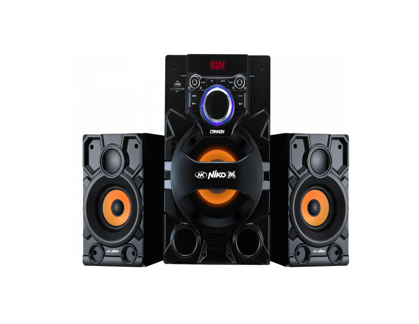 Niko Canon Slank Speaker Aktif Multimedia 105 Watt Dengan Bluetooth