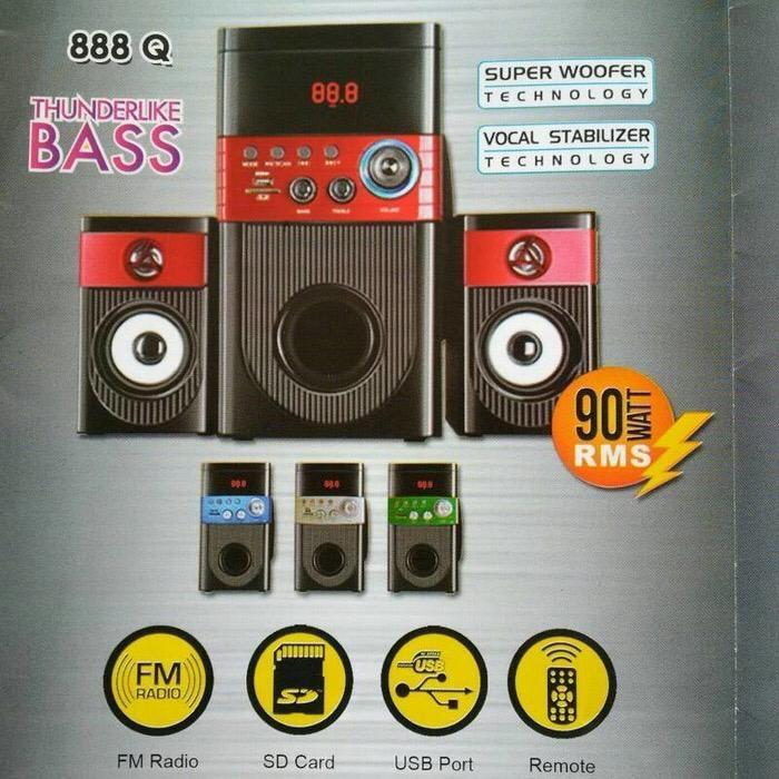 Promo Terpopuler Speaker Bluetoth GMC 888 Q