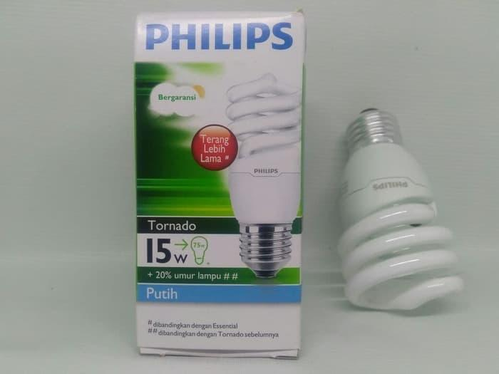 Philips Tornado 15 Watt Original Garansi Resmi Philips Indonesia