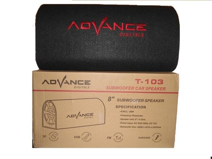 PROMO Speaker Mobil Advance Subwoofer T103 TERLARIS