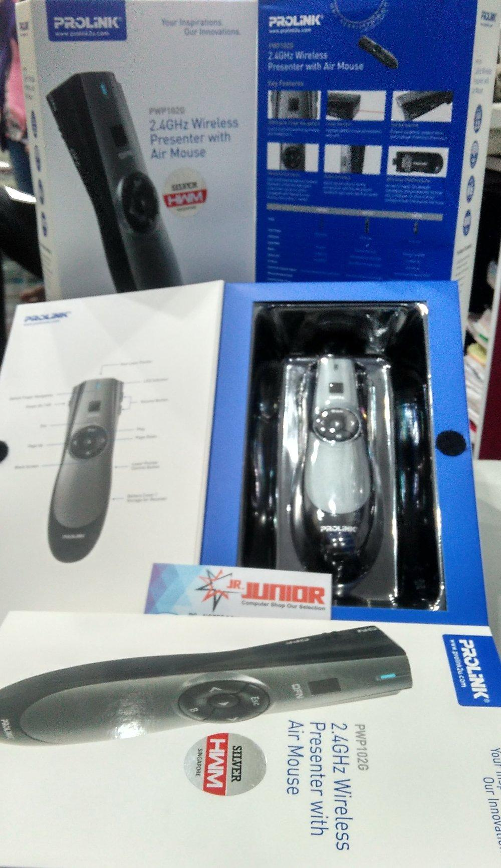 Harga Terbaru Mouse Wireless Murah Bandung November 2018 Paling Logitech M170 Ori Laser Pointer Prolink Pwp102g Presenter With Air