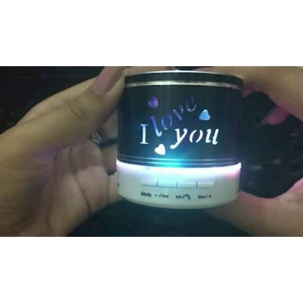 Best Seller Speaker Bluetooth I Love You Hadiah Kado Buat Pacar