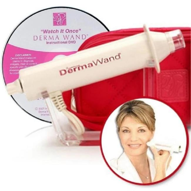 DermaWand Skin Care - Oxygenating sistem - Facial Treatment Terbaru/Setrika Wajah /Perawatan & Pembersih Kulit Wajah- As Seen On TV, Take Years Off The Appearance Of Your Skin.