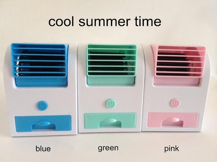 TERLARIS AC Duduk Mini Portable Fragrance Handy Cooler Bladeless Fan Kipas Angin conditioner aroma