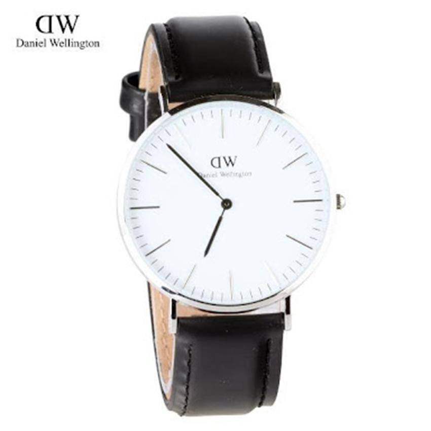 Jam Tangan Pria DW Daniel Welington Fashion Formal Kulit Man's Leather Strap - SA0123YRT74