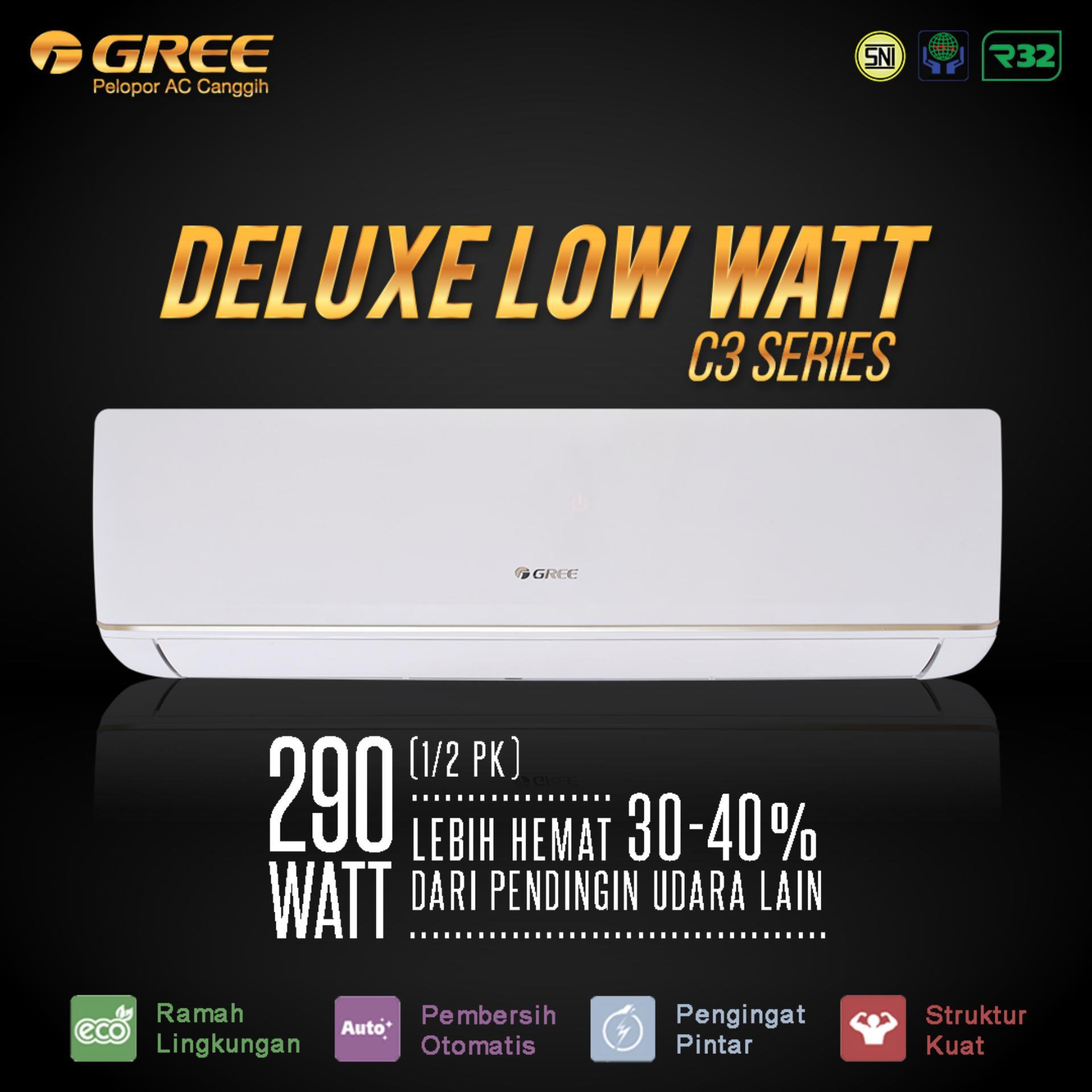 List Harga Ac Portable Gree November 2018 Termurah Air Curtain 1 Pk Fm K Putih 24c3 Deluxe Low Watt Series 25pk Unit Only