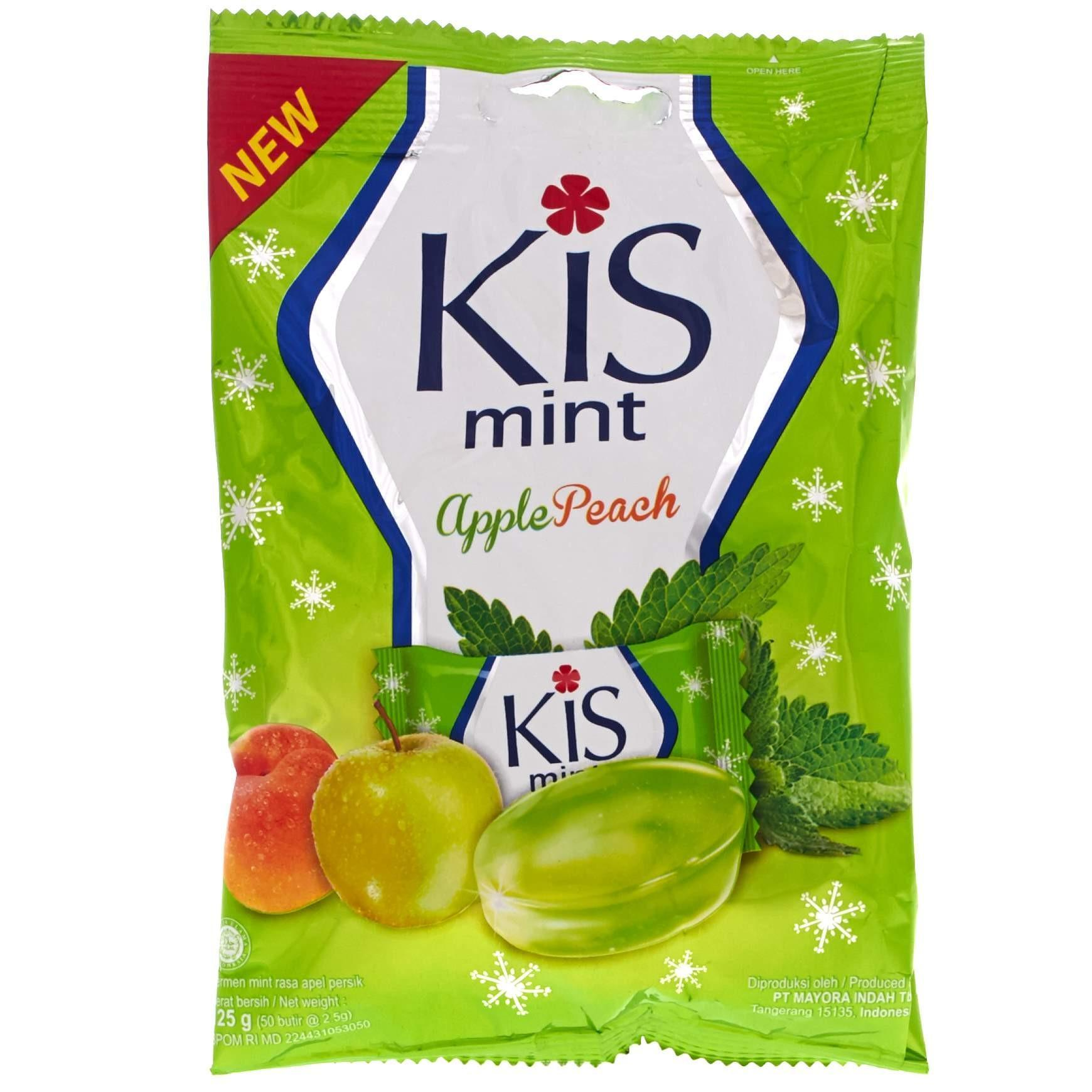 KIS Candy Mint Apple Peach 125g