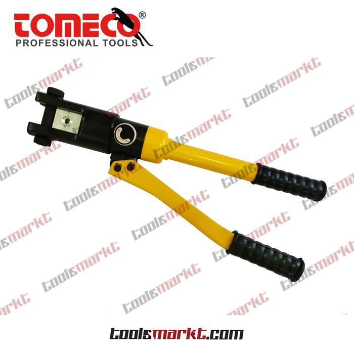 ORIGINAL - Tomeco Alat Press Kabel Skun Hidrolik 10-120mm Hydraulic Crimping Tool