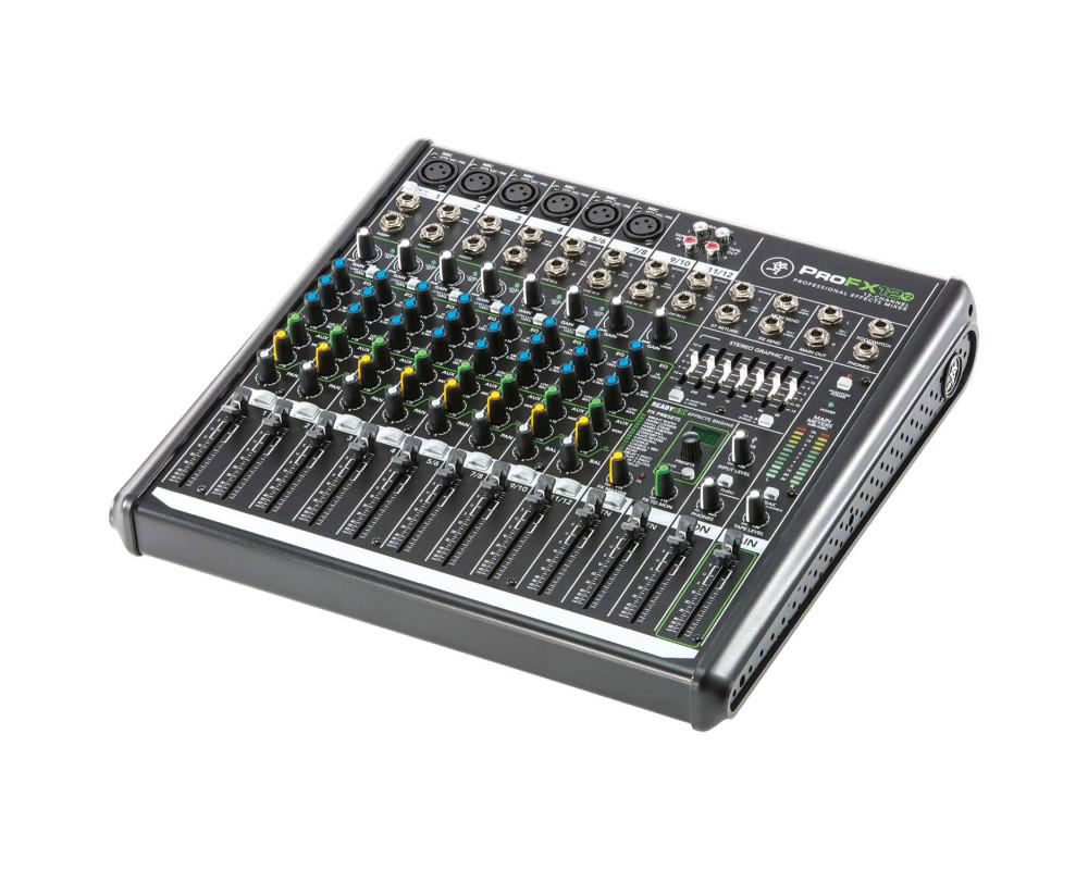 Mackie ProFX12 V2 (12-channel Compact Mixer with Built-in Effects)