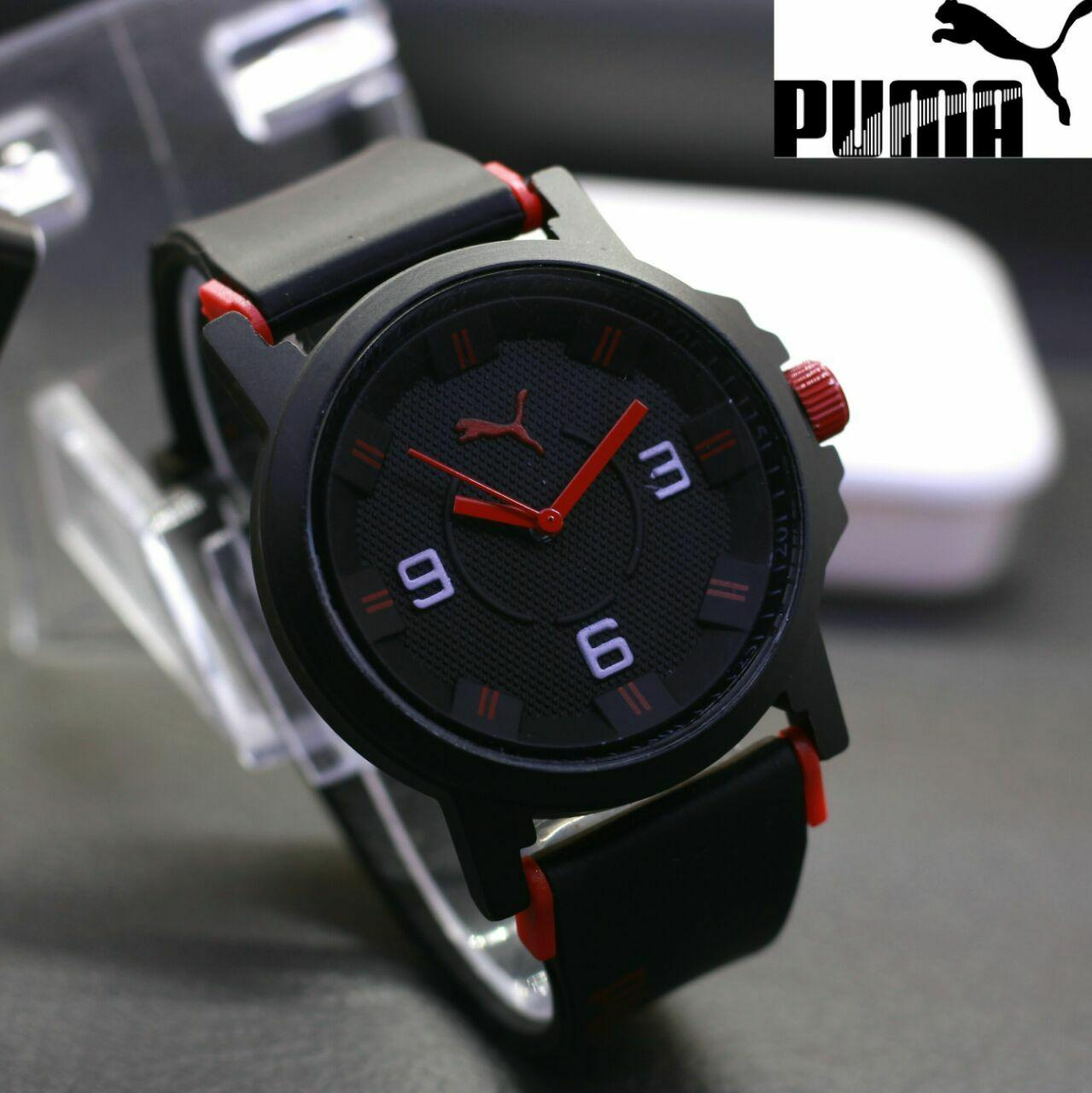 JAM TANGAN FASHION PRIA PUMA ULTRASIZE RUBBER NEW