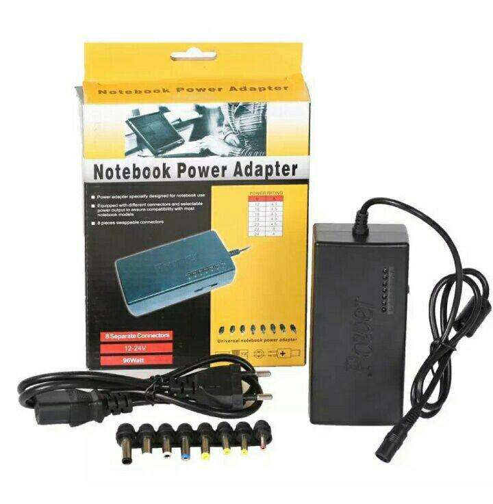 SELALU ADA - Adaptor Universal 96w Charger Laptop Printer Notebook Scanner CCTV LED
