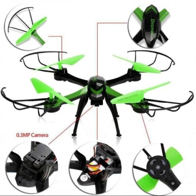 [Terbatas] JJRC H98 Drone murah include camera rtf