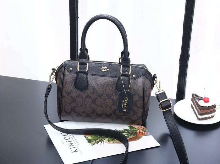 TAS WANITA BRANDED IMPORT COACH BENNETT BAG H677 MURAH
