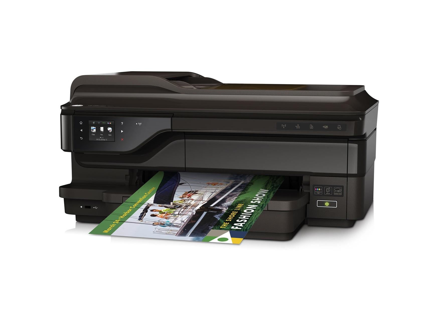 Printer HP Officejet 7612 Wide Format e-All-in-One A3 wifi 100% ORIGINAL harga sudah diskon