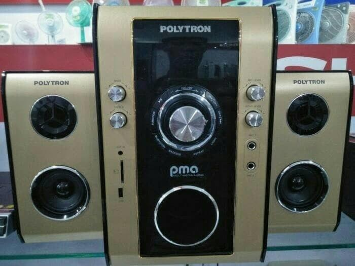 Polytron Multimedia Audio PMA-9503 Bluetooth - Speaker Subwoofer Aktif