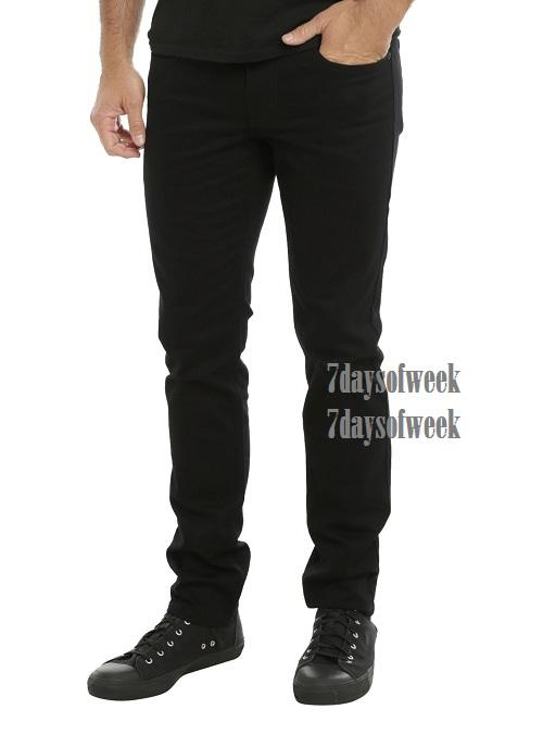 7dayofweek - jeans skinny black premium black // HOT ITEM