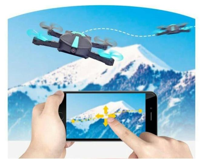 JY018 SELFIE DRONE MINI DRONE FOLDABLE WIFI CAMERA G SENSOR MURAH