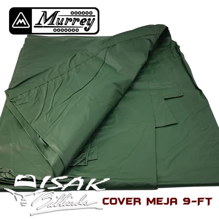 Murrey Table Cover 9-ft - Nylon - Penutup Meja 9 Pool Billiard Biliar - fke8qx