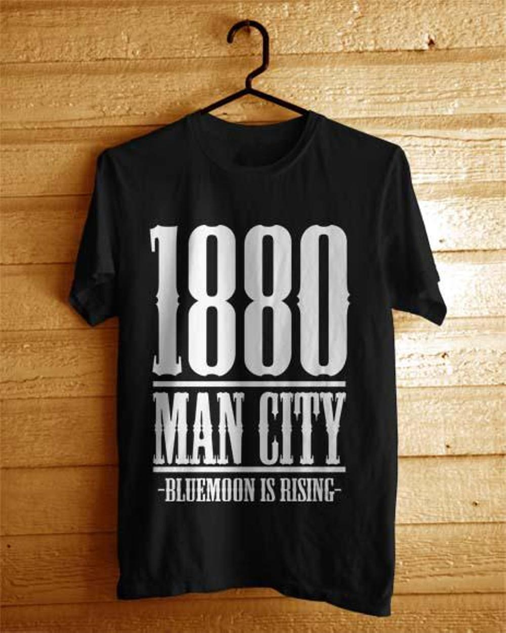 Referensi Harga Jaket Distro Online November 2018 Murah 02  Kaos Man City Years Est Big Hitam Baju Bola The Citizens