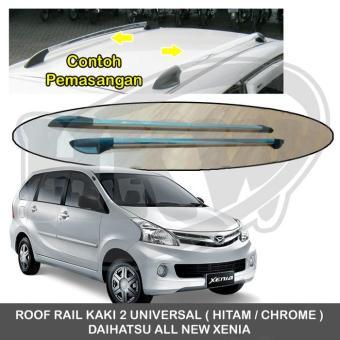 roof rail grand new avanza veloz matic kelebihan kaki 2 universal toyota all daihatsu xenia