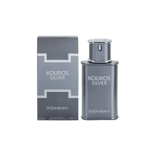 Parfum Original Yves Saint Laurent (YSL) Kouros Silver EDT 100Ml M