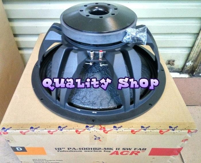 ORIGINALS  SPEAKER ACR FABOULUS 18 INCH 1300 WATT ORIGINALS