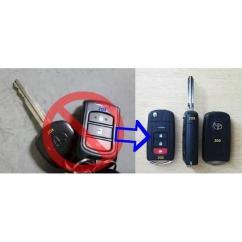 Flip Key Grand New Avanza All Camry Thailand Update Casing Kunci Lipat Toyota Veloz 3tombol Rush Kualited