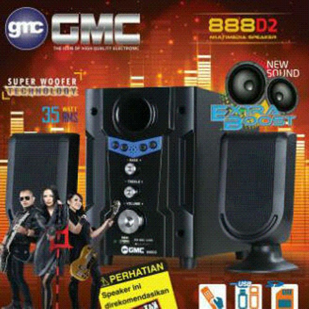 Speaker Aktif Multimedia GMC 888D2
