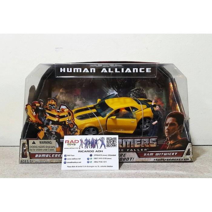 Action Figure Bumblebee Transformers Hasbro Toys Mainan - Wl669p