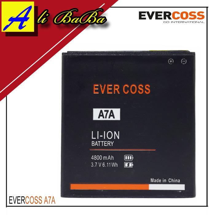 Baterai Handphone Evercoss A7A Dobel Power Original OEM Batre HP Batu