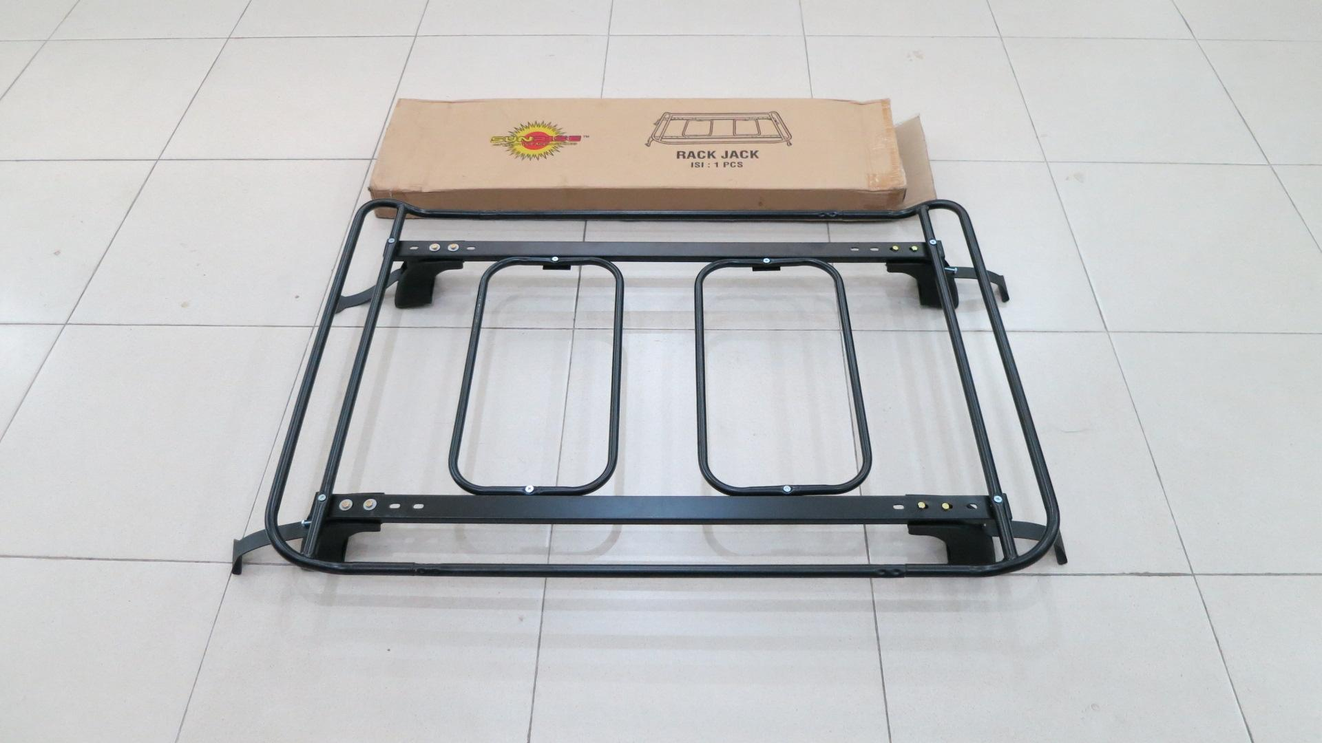 roof rail grand new avanza veloz agya 1.2 trd m/t features rack bagasi atas toyota all dan harga sunrise mobil universal hitam