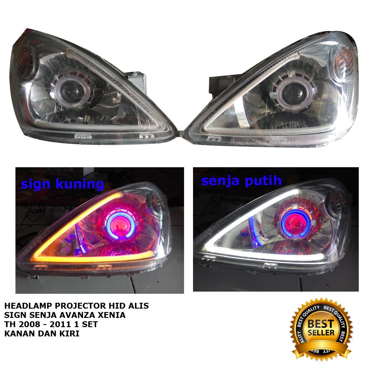 harga headlamp grand new veloz spesifikasi head unit features projector dan terbaru mobil avanza xenia 2008 2011 hid alis 2 mode