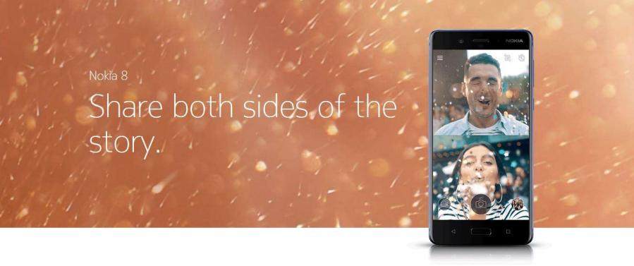 Nokia 8 Share both side of the story.JPG