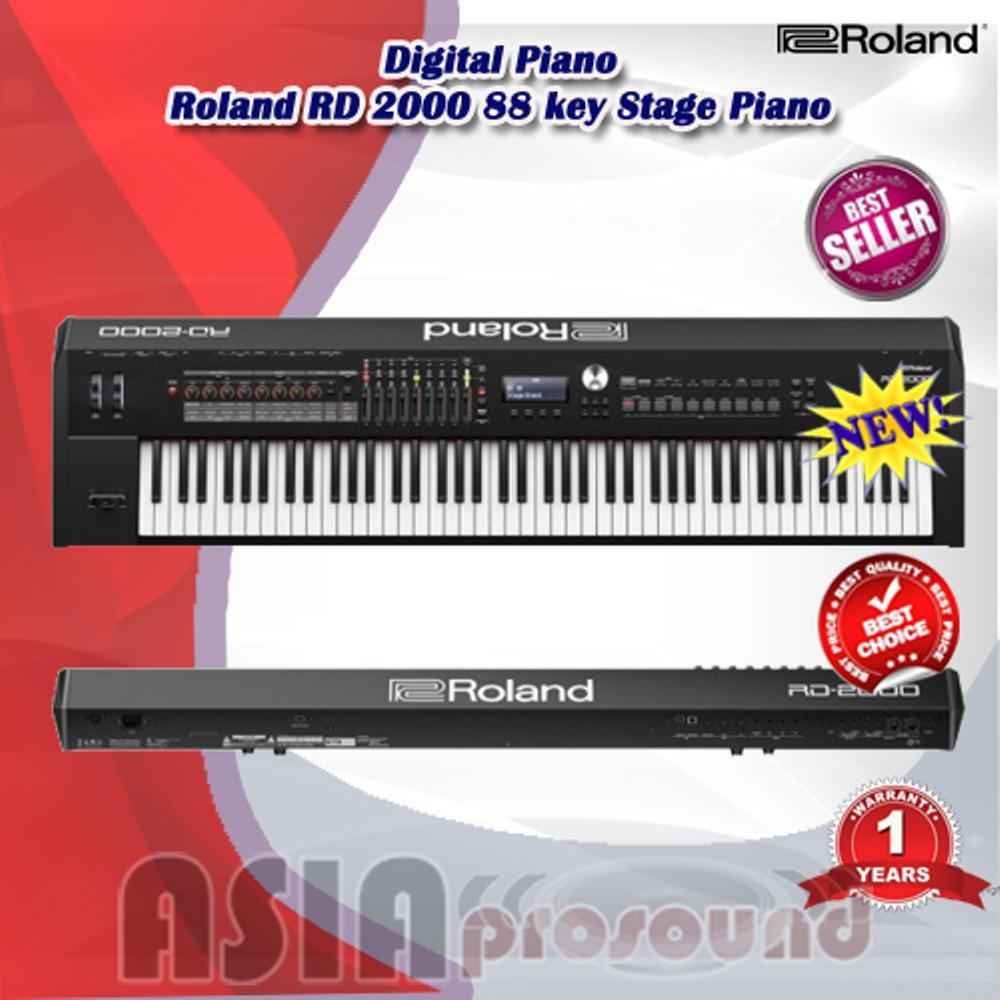 Digital Piano Roland RD 2000 - RD2000 - RD-2000 88 key Stage Piano