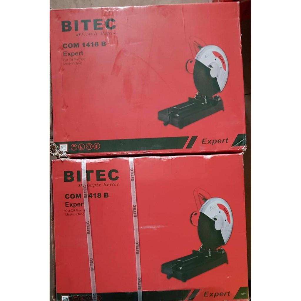 Bitec Mesin Cut Off Saw 14 Gergaji Potong Besi 1800 Watt COM 1418 NRT NEW
