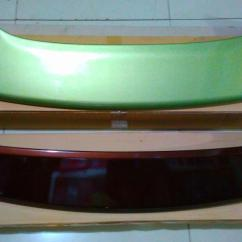Spoiler Grand New Avanza Suspensi Veloz Features Belakang All Xenia Semua Warna
