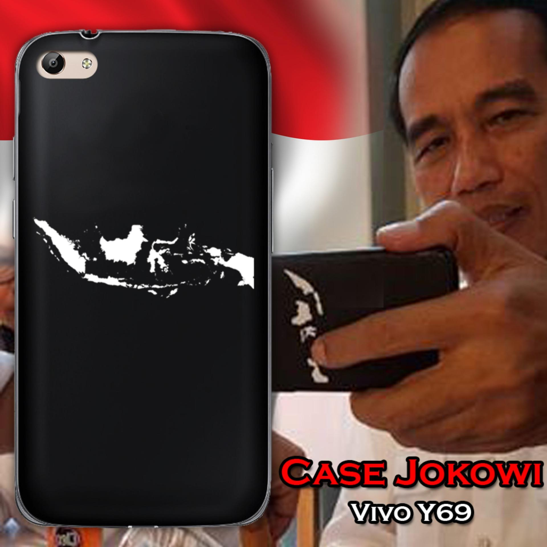 Case Presiden Jokowi for Vivo Y69 - Hitam