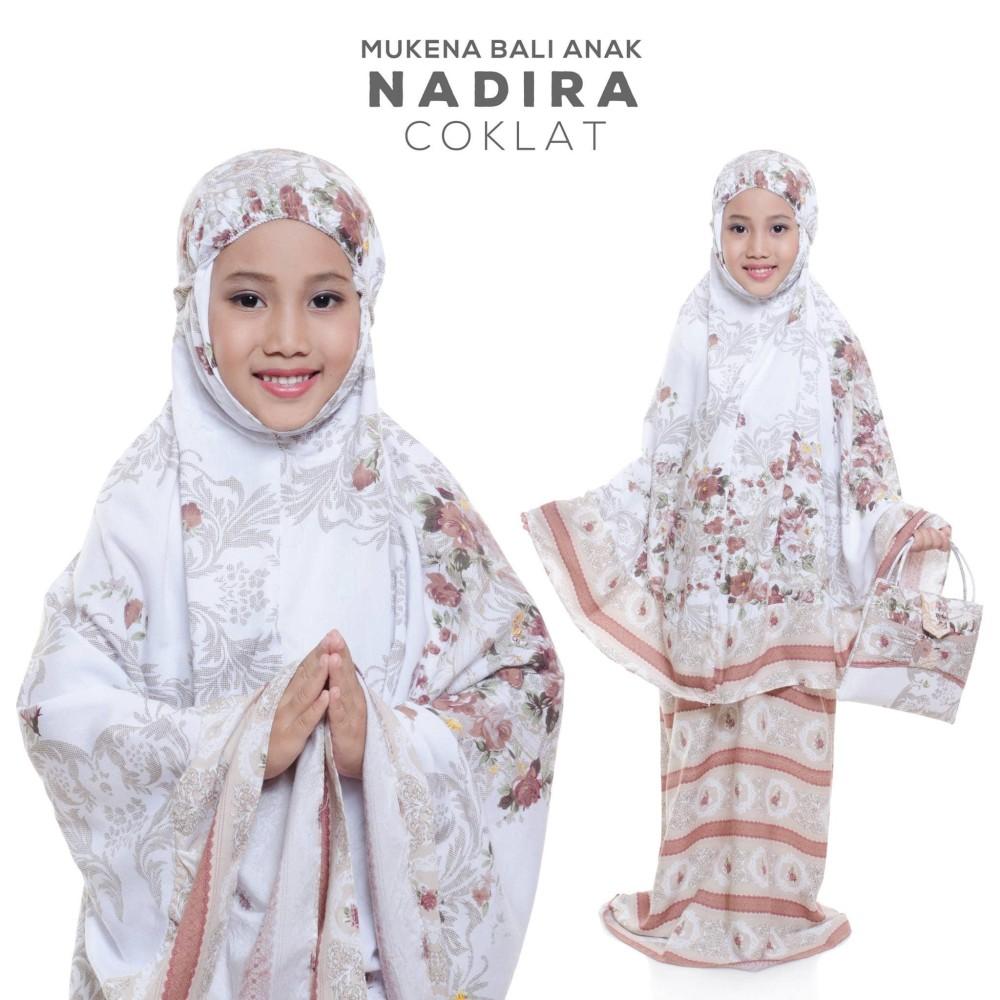 Inilah daftar harga Baju Muslim Anak Perempuan Mewah yang baru  TERLARIS!!!  MUKENA BALI ANAK NADIRA COKLAT mukena mewah   mukena dewasa   mukena ddd29f5c30