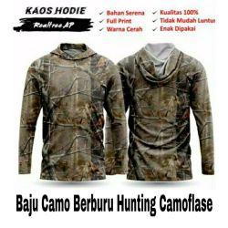 Baju Camo Realtree AP Hoodie Lengan Panjang