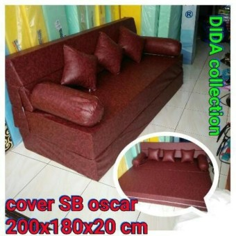 harga cover sofa bed inoac cushion fitur sofabed oscar uk 200x180x20 cm dan terbaru