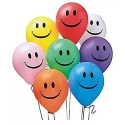 Balon Latex Motif Smile / Balon Karet HBD / Balon Ulang Tahun / Balon HBD / Balon Smile 12 inch - 10 Pcs