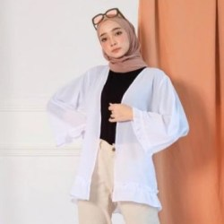 Baju kanaya outer moscrape / cardigan baju wanita /baju muslim wanita / baju overall /baju luaran / baju muslim / baju murah gamis muslim terbaru 2020 / muslim wanita / blus wanita /atasan wanita / atasan murah / fashion wanita / fashion murah
